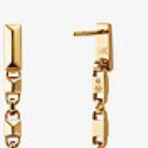 Michael Kors Jewelry - MICHAEL KORS Precious Mercer Link Linear Earrings.